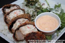 Stuffed Ahi Crab Roll