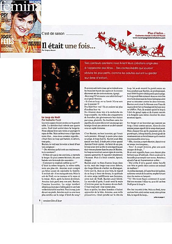 Article Fémina Decembre 2011
