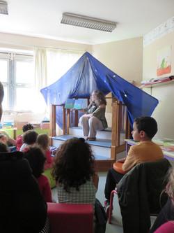 Intervention pédagogique à l'école Fuont