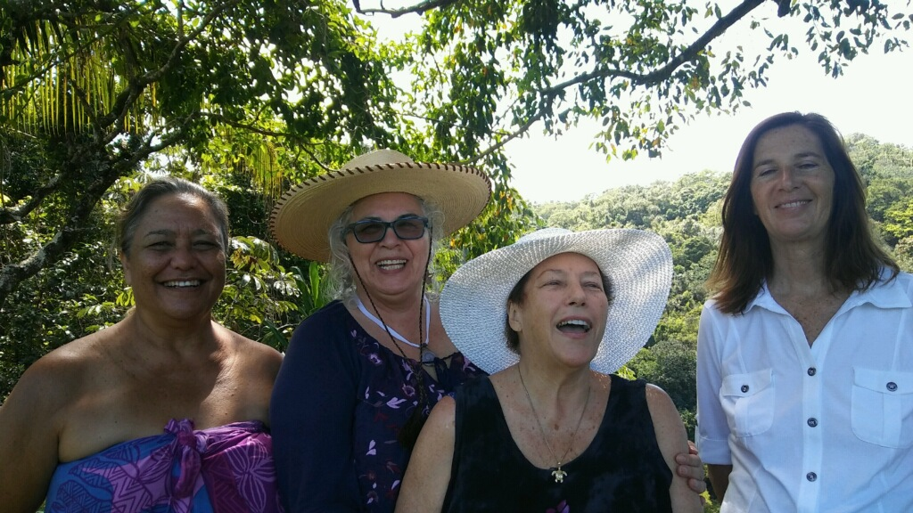 Nalei, Julia, Donna and Lyn