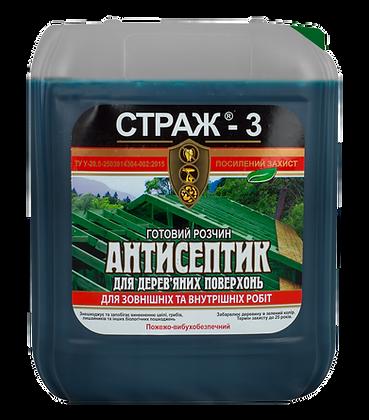 Антисептик-антижук БІОЗАХИСТ STRAZH-3 (5л)