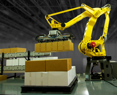 History and Impact of Robots in Palletization Processes