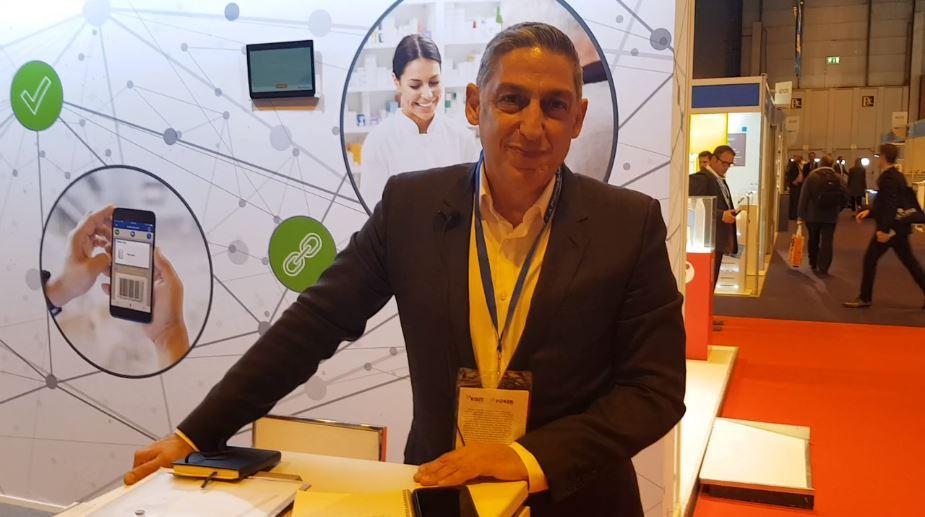 Ara Ohanian Systech Internationals CEO at CPhI 2018