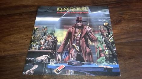 Iron Maiden - Stranger In A Strange Land (Single Vinyl)