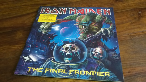 Iron Maiden - The Final Frontier Limited Edition - Double Picture Disc Vinyl