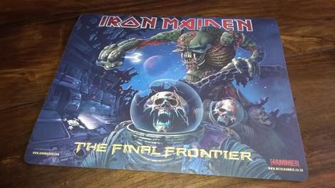 Iron Maiden - The Final Frontier (Hiirimatto)