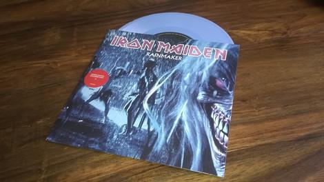 Iron Maiden - Rainmaker (Blue, Single, Vinyl)
