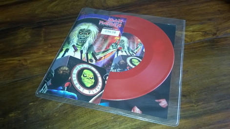 Iron Maiden - Out of the Silent Planet (Red, Single, Vinyl)