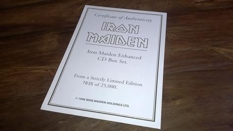Eddie's Head - Certificate of Authenticity (7835 of 25000)