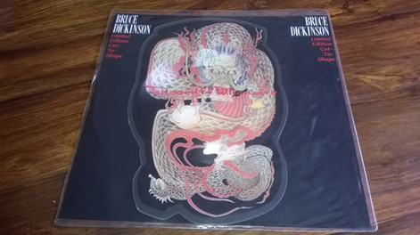 Bruce Dickinson - Tattooed Millionaire Limited Edition Cut To Shape (Picture Disc Vinyl)