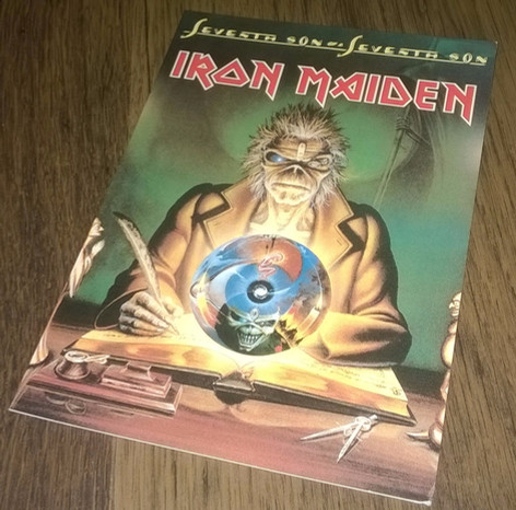 Iron Maiden - Seventh Son of a Seventh Son postcard