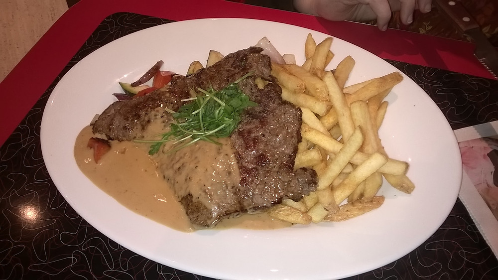 Pepper Steak'n Fries