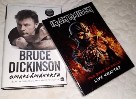 Bruce Dickinson: Omaelämänkerta & Iron Maiden - The Book of Souls: Live Chapter (CD)