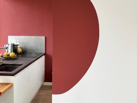 Des formes organiques et graphiques pour personnaliser votre appartement