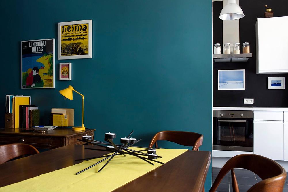 salle à manger cuisine olivier francheteau