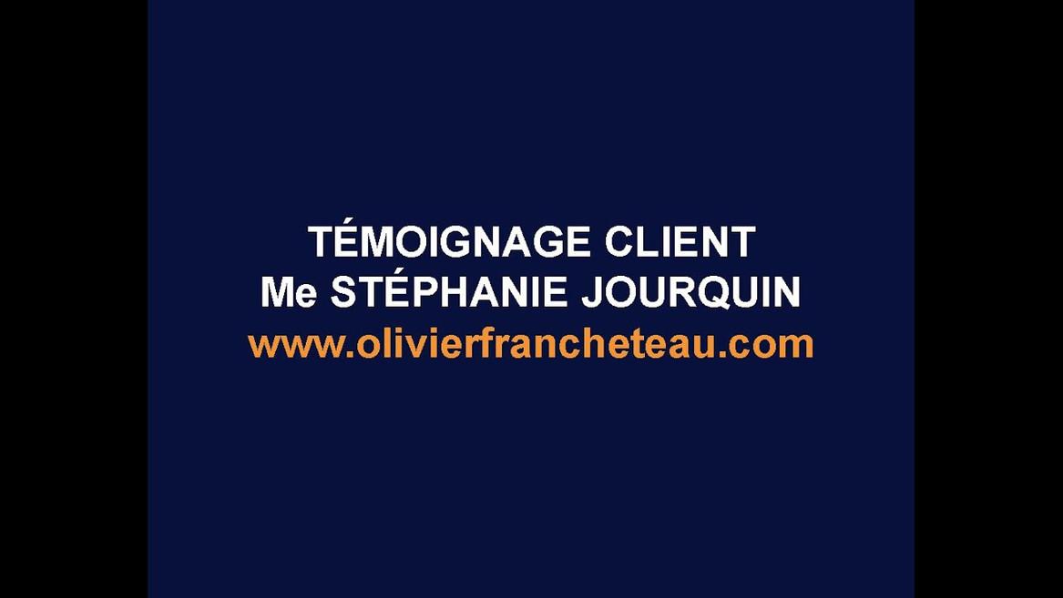 Me Stéphanie Jourquin, avocate (Nice)