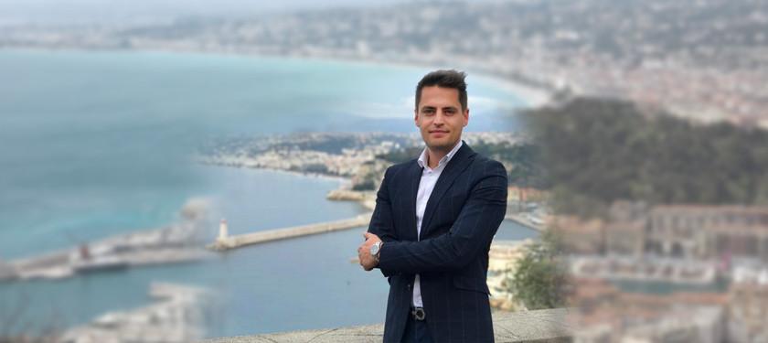 Simon Gautron, Conseiller en immobilier chez Century Lafage Transactions Mont Boron (Nice)