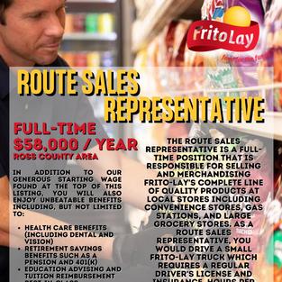 Route Sales Rep