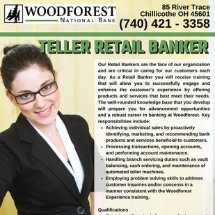 Teller Retail Banker