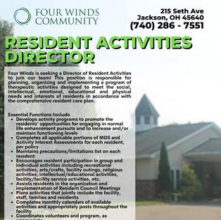 Resident Activities Director