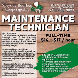 Maintenance Tech