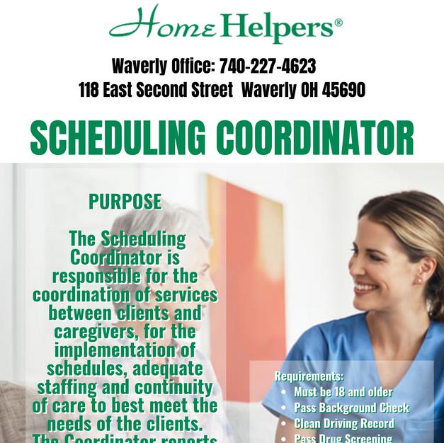 Scheduling Coordinator
