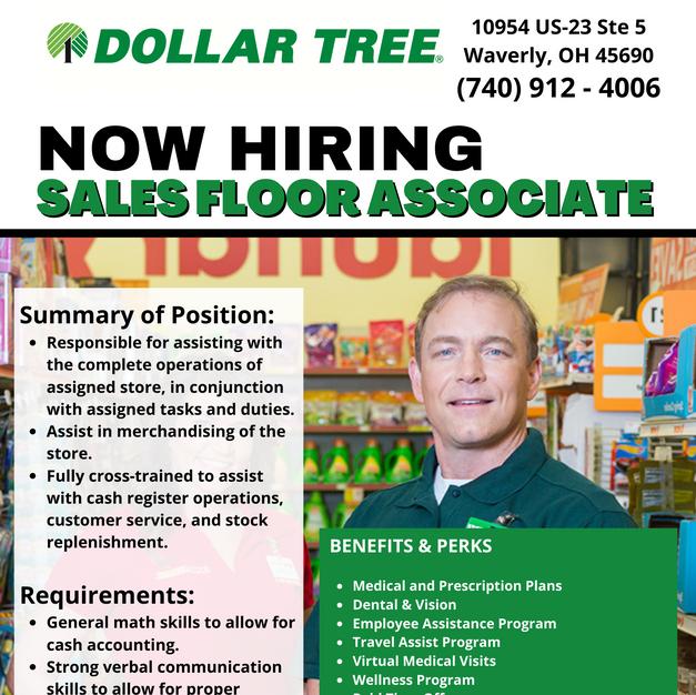 Sales Floor Associate