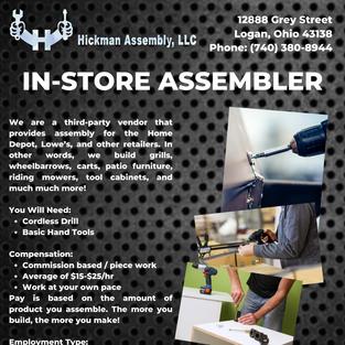 In-Store Assembler