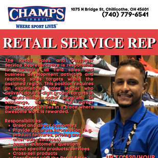 Retail Service Rep