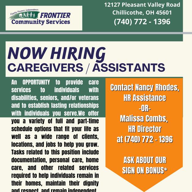 Caregivers / Assistants