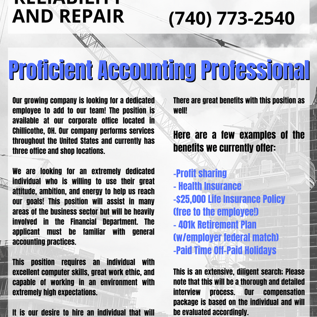 Proficient Accounting Professional