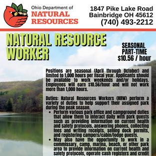 Natural Resource Worker