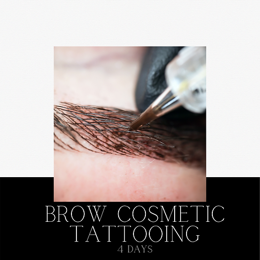 microbalding ombre combination tattooing