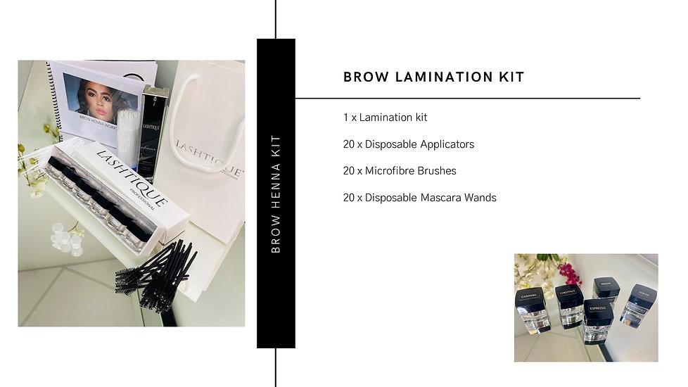 Brow Lamination Course. www.lashtique.co