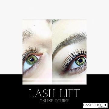 Lashlift Online  Course www.lashtiquepro