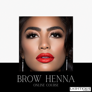 Brow Henna Online  Course www.lashtiquep