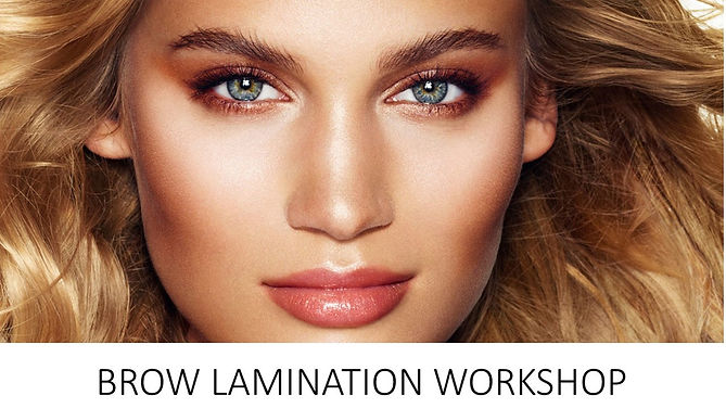 Brow Lamination Course. www.lashtique.co