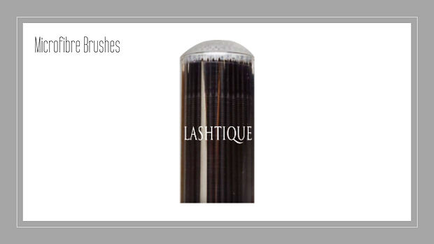 Microfiber Brushes www.lashtique.com.au.
