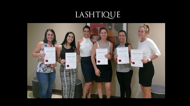 brow and lash training www.lashtique.com