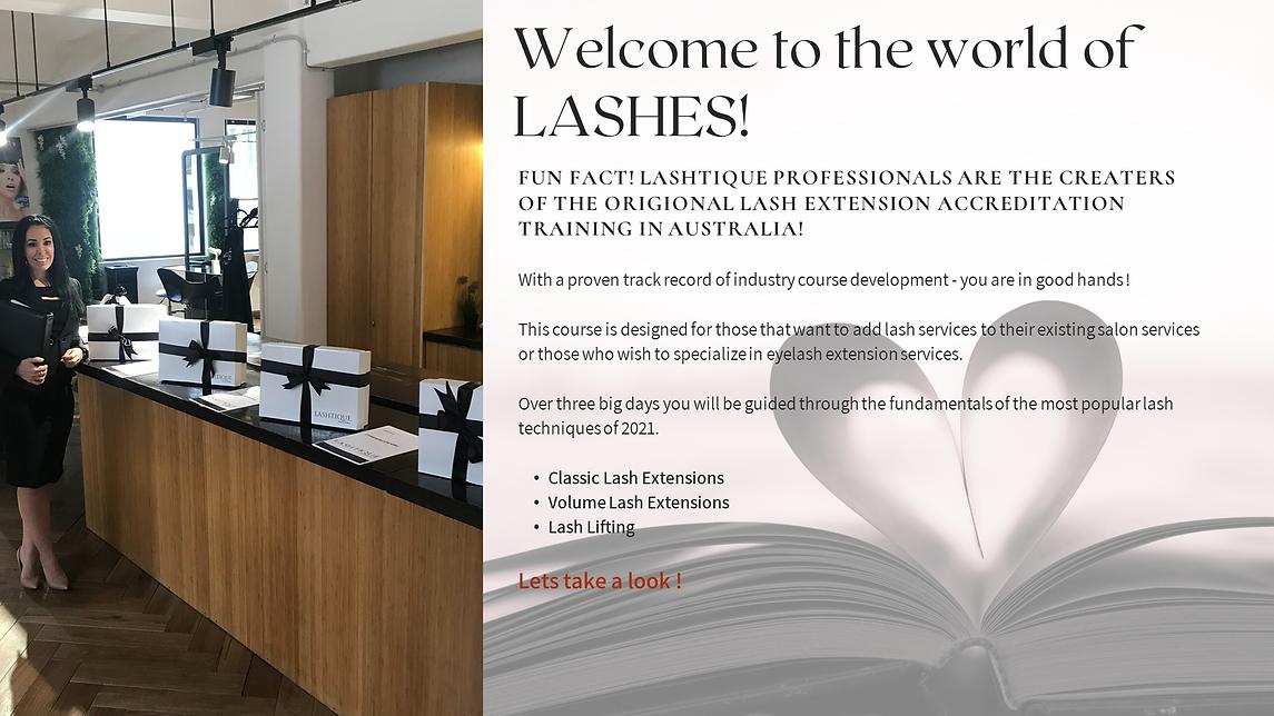 Lash Training Courses www.lashitqueprofe
