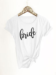 Bridal Party Fitted Tshirt