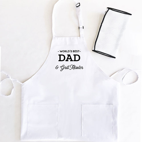 Personalized Apron for Dad