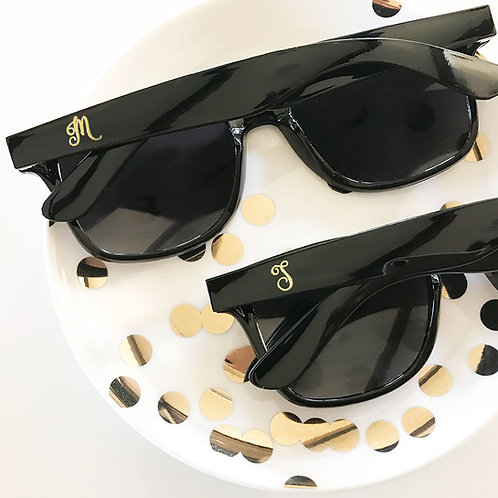 Personalized Sunglasses (Black)