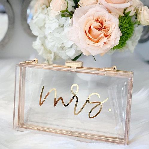 Bridal Acrylic Purse