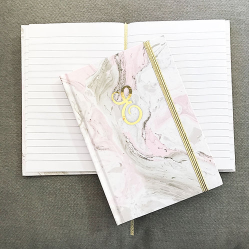 Pink Marble Journal