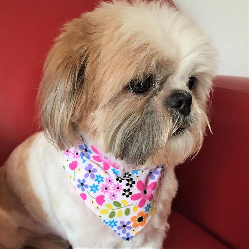 Dog Bandana Floral Medley by Woof Stuff Ireland