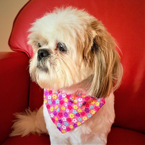 Dog Bandana Floral Flurry by Woof Stuff Ireland