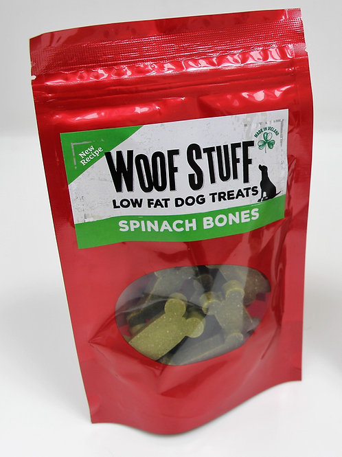 Spinach Bones Low Fat Dog Treats