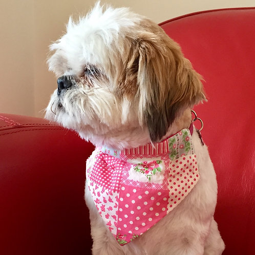 Dog Bandana Patchwork Chic by Woof Stuff Ireland