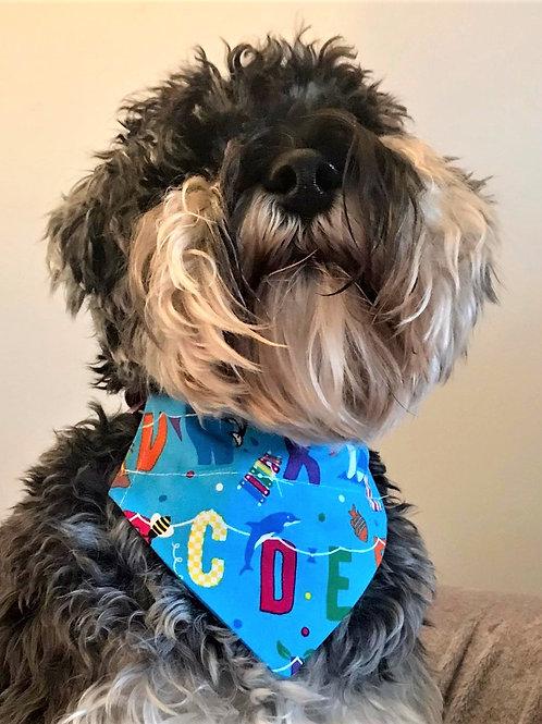 Dog Bandana Too Cool For School by Woof Stuff
